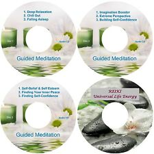 Guided Meditation 9 Sessions & Reiki 4 CD Relaxation Antistress Aiuta Il Sonno