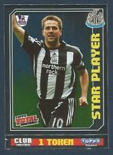 TOPPS TOTAL FOOTBALL-2009- #315-NEWCASTLE UNITED-REAL MADRID-MICHAEL OWEN-FOIL
