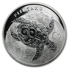 New Zealand Mint Fiji Taku 2012 1 oz .999 Silver Coin