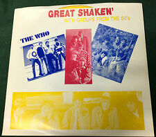 "GREAT SHAKEN"" ep The Who, Yardbirds, Blues Magoos, Spencer Davis, Linda Ronstadt"