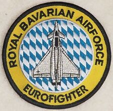 Aufnäher Patch Luftwaffe Royal Bavarian Air Force Eurofighter .........A4951
