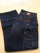 Triple 5 Soul Men's Carpenter Jeans Loose-Fit , Size 38/32 , Color Indigo