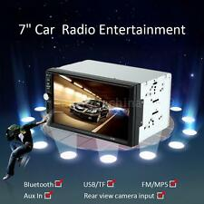 "7"" HD 2 Din Universal Car Radio MP5 Player USB/TF In-Dash FM Aux Bluetooth 4Q0S"