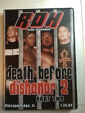 ROH Death Before Dishonor 2 Part 2 II Ring of Honor PWG NJPW WXW Evolve WWE OOP!