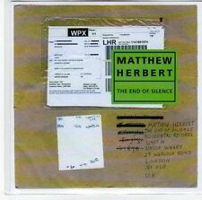 (EE767) Matthew Herbert, The End Of Silence - 2013 DJ CD