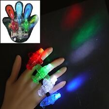 48 Airplane Shaped Finger Lights - Raves, Parties, Concerts