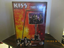 KISS AXE GUITAR TABLE LAMP New In Box  FREE SHIPPING USA!! ROCK BAND