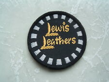 GENUINE PERIOD D LEWIS AVIAKIT LEATHERS JACKET SEW ON PATCH IRON VINTAGE ROCKERS