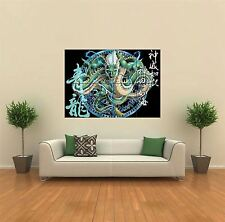 JAPANESE DRAGON NEW GIANT POSTER WALL ART PRINT PICTURE G545