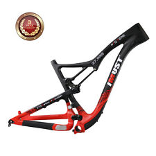 "IMUST 27.5er Carbon MTB Frame Full Suspension Mountain Bike Frame S7 20.5"" BB92"