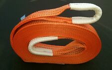 NEW 10M 4X4 RECOVERY WINCH TOW/TOWING ROPE STRAP TREE STROP 5 TON WARN OFF ROAD