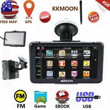 "Portable 7"" HD Car AUTO GPS Navi 4G Navigation Navigator US Canada Map &Pen E8G9"