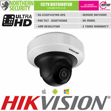 Hikvision 4mp 2.8mm 1080p PoE IR WIFI Audio Mini PT Telecamera di sicurezza di rete IP