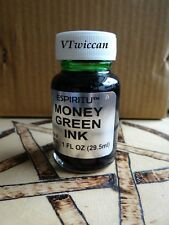 Money Green Ink 1oz. Ritual Spell Supply Pagan Witchcraft Altar Supply
