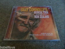 Billy Connolly John McCusker - Musical Tour of New Zealand TV Soundtrack CD NEW!