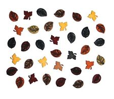 Tiny Leaves Fall Autumn Novelty Buttons Jesse James Theme Pack