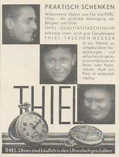 Y6731 THIEL Uhren - Pubblicità d'epoca - 1929 Old advertising