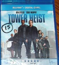 Blu Ray film Tower Heist , new and unused Starring Ben Stiller & Eddie Murphy