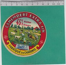 J292 FROMAGE CAMEMBERT CHARENTE