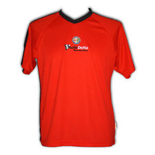 Alfa Romeo AutoDelta Football Shirt Tee Shirt Red/Black NEW Official  XS XXS