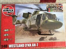 Airfix LYNX AH-7  Royal Marines  / Army Helicopter 1:48th Box kit