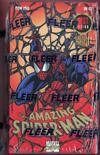1994 Fleer Amazing Spider-Man Card Set Wax Pack Box 1st Edition SpiderMan Marvel