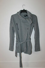 New Harley-Davidson slim fit cowl neck belted long sweater women XS $95 Sale