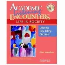 Academic Listening Encounters: Life in Society Student's Book with Audio CD: L..