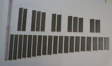 Klangplatten-Satz für Metallophon 2 1/2 Oktaven - 31 Stück, fertig gestimmt