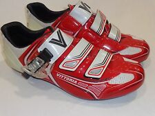 Vittoria Brave Road Cycling Shoe Red-White EU 43 - 9.75 us