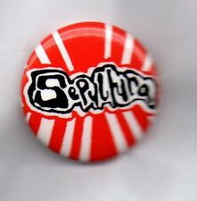 SEPULTURA - BUTTON BADGE - BRAZILIAN HEAVY METAL BAND - BENEATH THE REMAINS