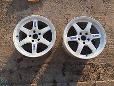 Genuine Volk Racing Rays TE37 Rims Wheels 17X9.5 +40 5x114.3 CE28 WORK S15 RX7