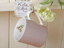 Katie Alice Cottage Rosa Fiore A Pois Shabby Chic TAZZA