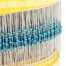 600Stk 30 Kinds Each 20 1/4w Resistance 1% Metal Film Resistor Widerstand Bag