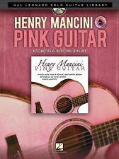 Henry Mancini THE PINK PANTHER Guitar Solo Play MOON RIVER TAB Music Book