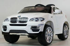BMW Ride On Toy Battery Powered Kids Car Wheels Electric White NO Remote Control