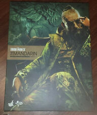 """1/6 Scale Iron Man 3 The Mandarin 12"""" inch Hot Toys Empty Box Only!!! JC"""