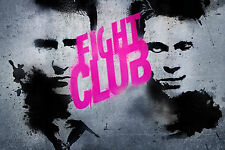 Fight Club Movie Poster 24x36 Inch Art Silk Fabric Print For Decor1
