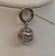 Story by Kranz & Ziegler Sterling Silver Ribbon Charm. RRP £69.