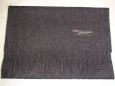 New 100% Cashmere Scarf Solid Charcoal Gray Scotland Wool Men Women Wrap Loop