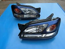 JDM Subaru Liberty Legacy B4 BE5 BH5 BH9 HID Headlight Head Lights 1 Pairs BLUE