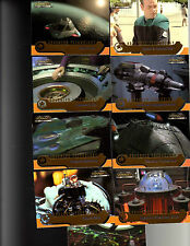 Star Trek Voyager CTH Advanced Technology 9 card set