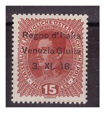 VENEZIA GIULIA 1918 - 15  HELLER   NUOVO   **