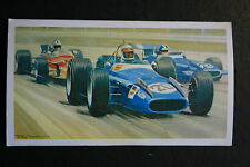MATRA MS 80  Ford V8  MONZA GP  Motor Racing Car  # Illustrated Card  VGC