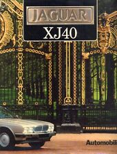 Jaguar XJ40 - VERY RARE BOOK published by Automobilia 1988