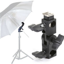 Hot Shoe Light Stand Flash Umbrella Bracket Holder Adapter Grip Fr Canon Yongnuo