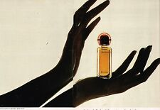 Publicité advertising 1972 (2 pages) Parfum de Toilette Audace de Rochas
