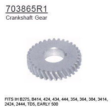703865R1 Case Tractor Parts Crankshaft Gear IH B275, B414, 424, 434, 444, 354, 3