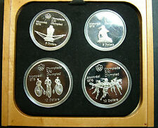 1976 Montreal   Olympic Game  4 silver   dollars  proof  BU
