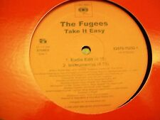 """The Fugees-Take It Easy-12""""Single-Columbia-82876752521-VG++"""
